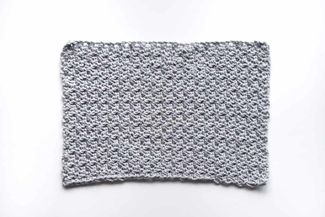 Crochet face cloth pattern