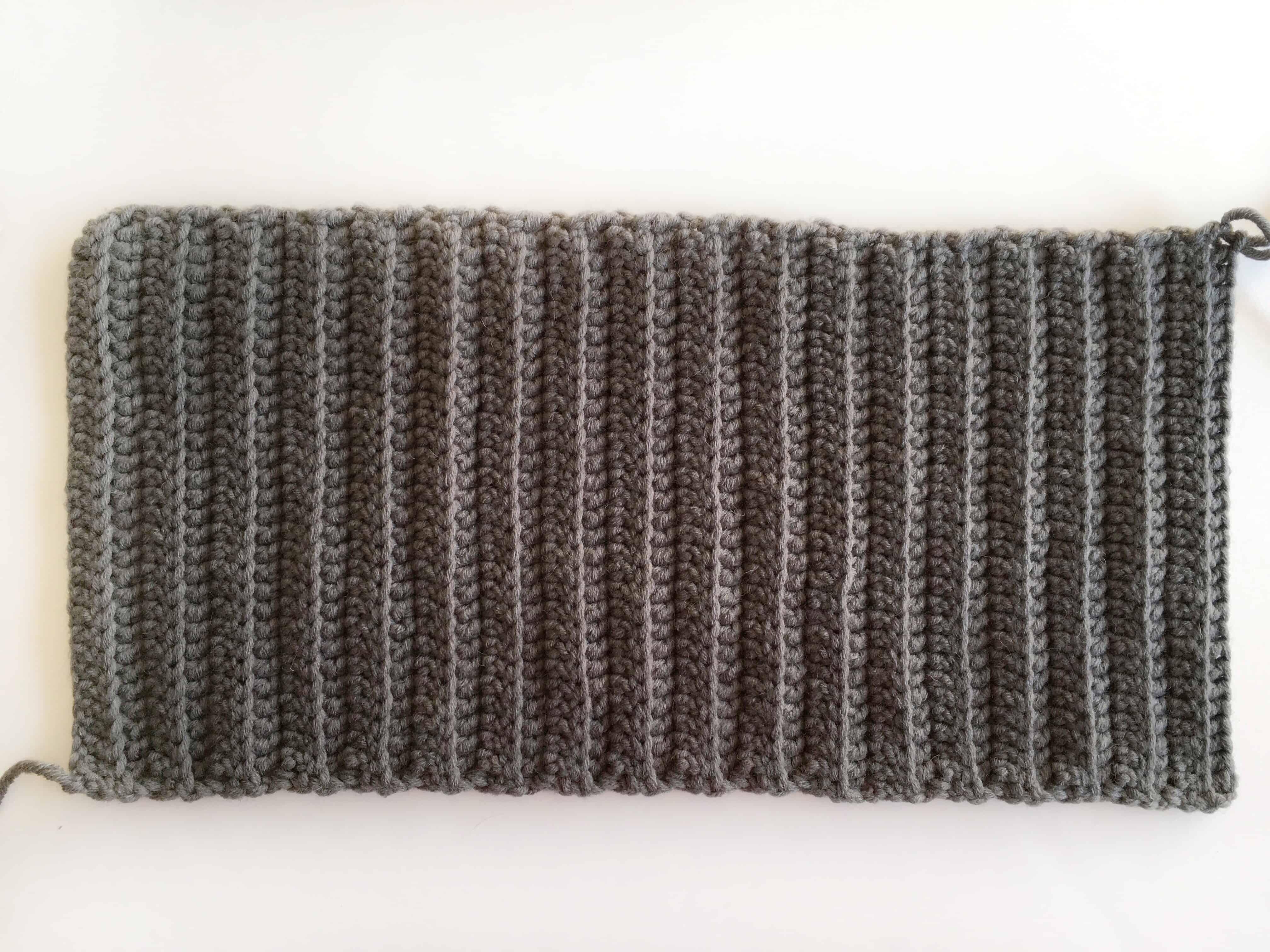 Free beanie crochet pattern
