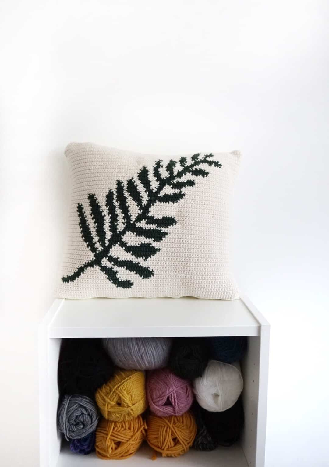 Crochet Cushion Cover Pattern
