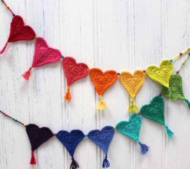 Crochet Garland Pattern
