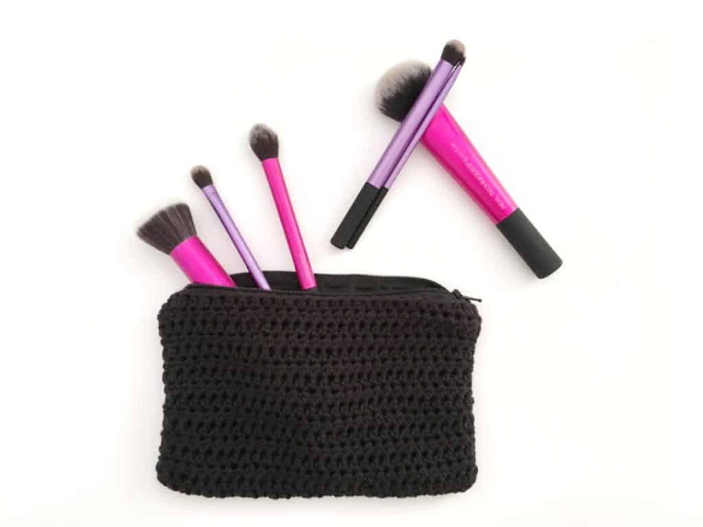 Crochet Zip Bag