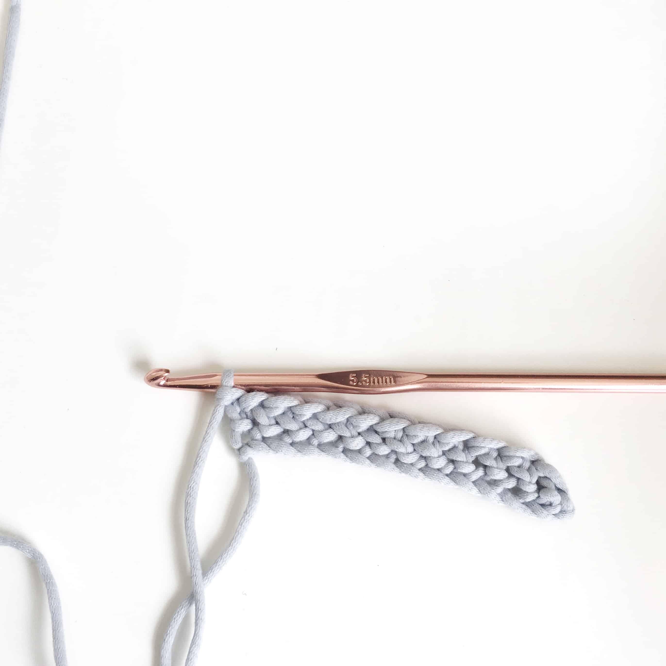 Crochet Herringbone Stitch Tutorial