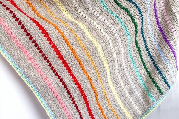 Summer Crochet Blanket Pattern
