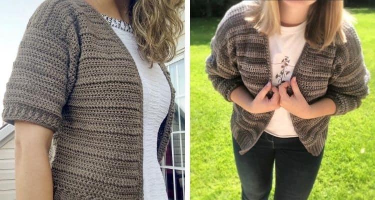 Summer Crochet Cardigan Pattern