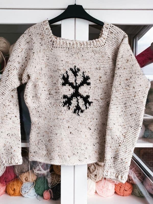 Crochet Christmas Sweater Pattern