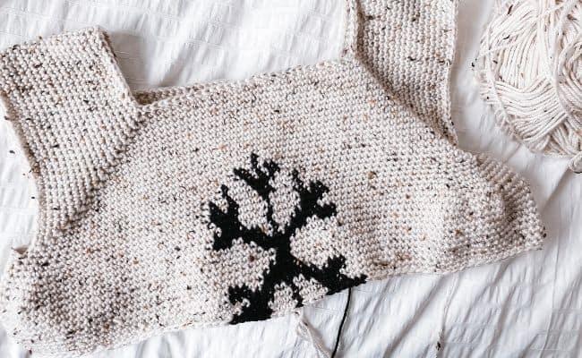 Crochet Christmas Jumper Pattern