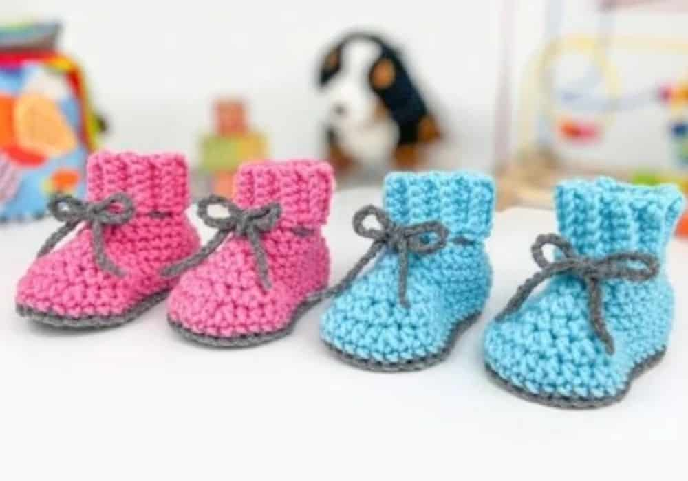 Free Baby Booties Pattern