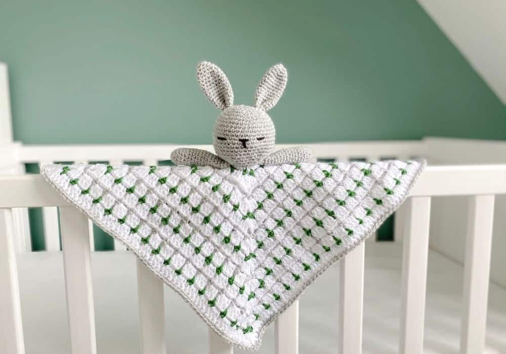 Crochet Bunny Lovey Pattern